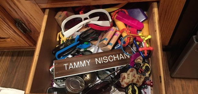 title drawer