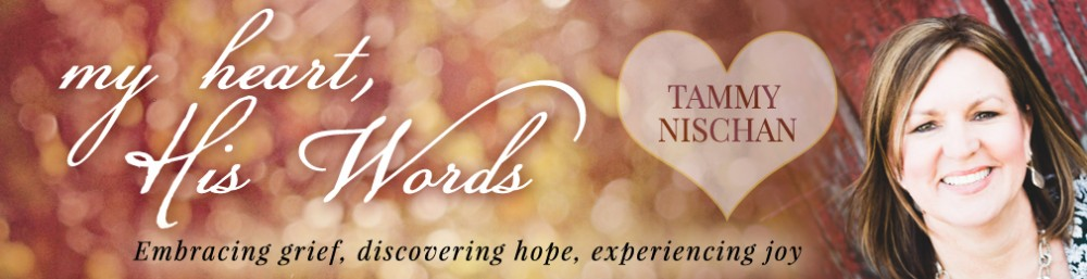 My Heart His Words Logo