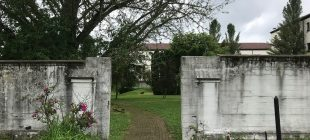 gate at abbey