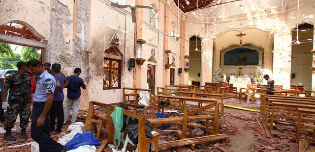 bombing in sri lanka
