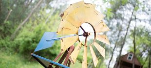 windmill at angle