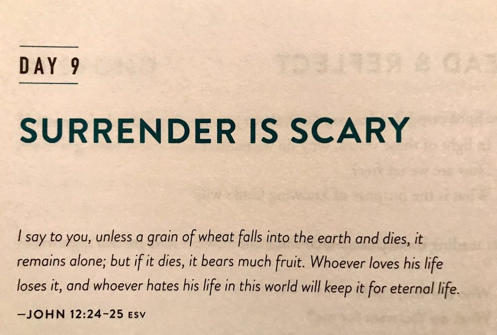 Surrender is Scary