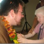 One of the reasons Nick's foundation exists…India