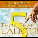 """Thou Shalt Laugh"" Give-Away Winners!!"