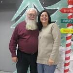 I Subbed with Santa!