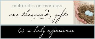 Revelation on a Monday Morning…..