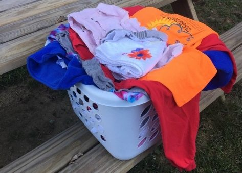 Laundry, Glue Guns, Daughters, and Grief