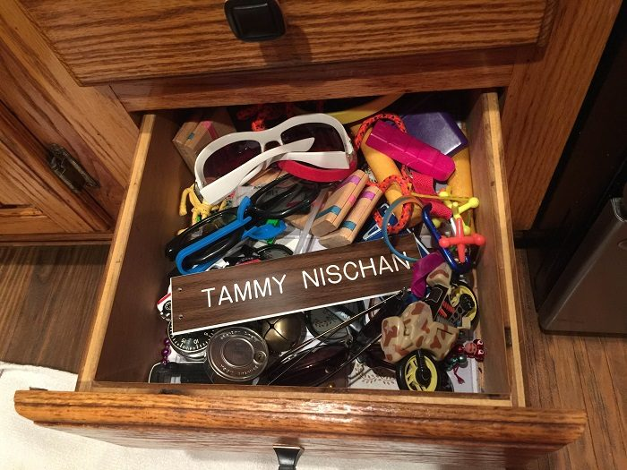 When Your Title's In A Toy Drawer